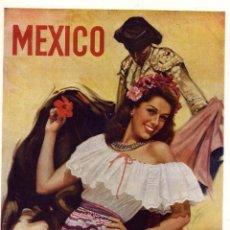 Coleccionismo de Revistas y Periódicos: MEXICO 1948 TURISMO ILUSTRACION HOJA REVISTA. Lote 70114373