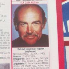 Coleccionismo de Revistas y Periódicos: RECORTE SEAN CONNERY . Lote 70121789