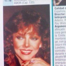 Coleccionismo de Revistas y Periódicos: RECORTE VERONICA CASTRO. Lote 70126805