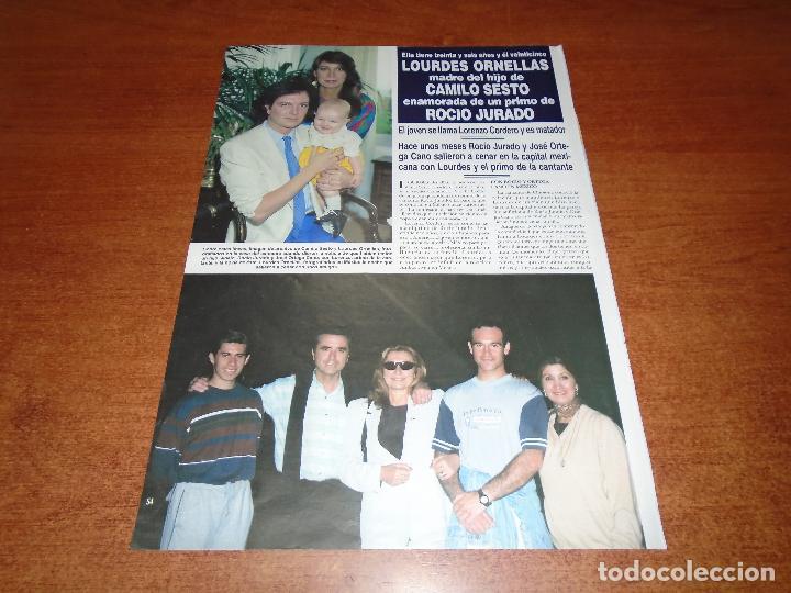 CLIPPING 1999: CAMILO SESTO (Coleccionismo - Revistas y Periódicos Modernos (a partir de 1.940) - Otros)
