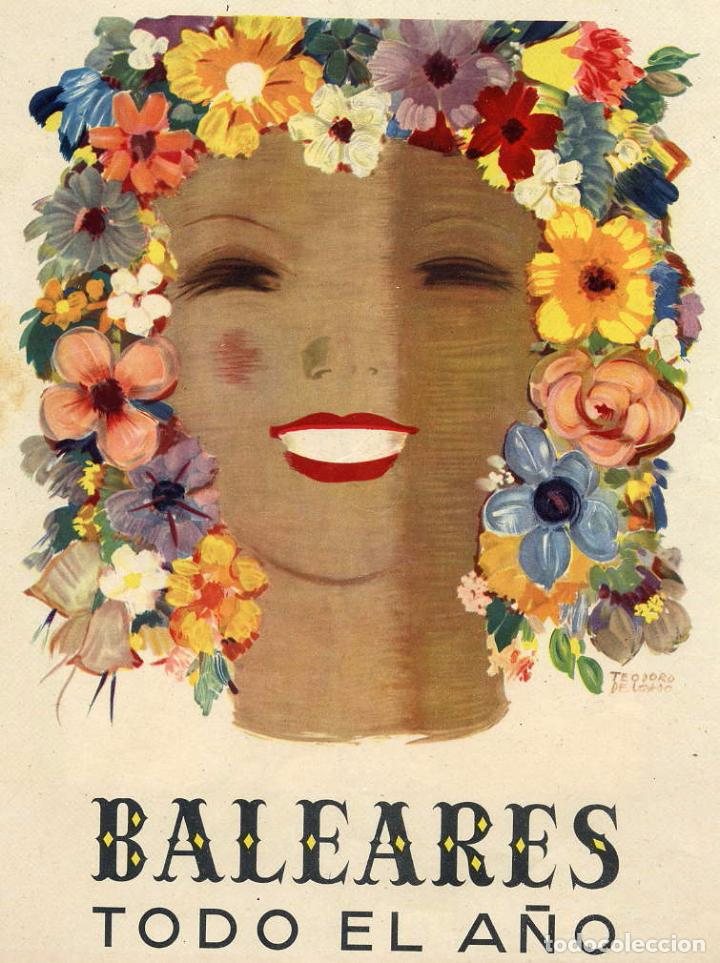 BALEARES 1948 ILUSTRACION HOJA REVISTA (Coleccionismo - Revistas y Periódicos Antiguos (hasta 1.939))