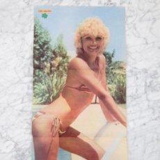 Coleccionismo de Revistas y Periódicos: REPORTAJE + POSTER - LOLA MARTINEZ - 1979. Lote 70267001