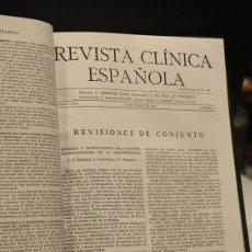 Coleccionismo de Revistas y Periódicos: REVISTA CLÍNICA ESPAÑOLA. DIRIGIDA POR CARLOS JIMÉNEZ DÍAZ. AÑO 1961, NÚMEROS 1 AL 6 DE DICHO AÑO. E. Lote 70350950