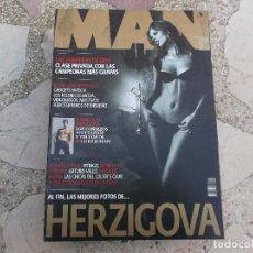 Coleccionismo de Revistas y Periódicos: REVISTA MAN Nº 242. EVA HERZIGOVA. LAS SUPERFERAS DE ORO. RUSSELL CROWWE. PITINGO. DONATELLA VERSACE. Lote 288867363
