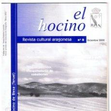 Coleccionismo de Revistas y Periódicos: REVISTA CULTURAL ARAGONESA EL HOCINO Nº 8 FILATELIA MATESELLOS LOCALES DICIEMBRE 2002 32 PAG MD384. Lote 70411829