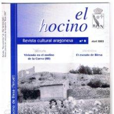 Coleccionismo de Revistas y Periódicos: REVISTA CULTURAL ARAGONESA EL HOCINO Nº 9 VIVIENDO EN EL MOLINO DE LA CUEVA (III) ABRIL 2003 MD385. Lote 70412097