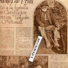 Coleccionismo de Revistas y Periódicos: REVISTA 1931 SOMBREROS MISS REPUBLICA ESPAÑOLA EN TENERIFE CORNETIN DE PRIM O'DONELL CASTILLEJOS . Lote 70421581