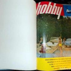 Coleccionismo de Revistas y Periódicos: LOTE AÑO COMPLETO REVISTA HOBBY. BUENOS AIRES, 1972. Lote 70524925