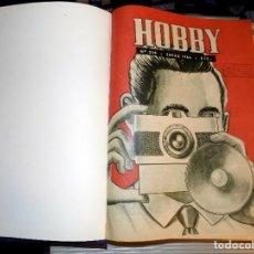 Coleccionismo de Revistas y Periódicos: LOTE AÑO COMPLETO REVISTA HOBBY. BUENOS AIRES, 1964. Lote 70525205