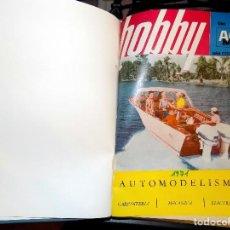 Coleccionismo de Revistas y Periódicos: LOTE AÑO COMPLETO REVISTA HOBBY. BUENOS AIRES, 1971. Lote 70525289