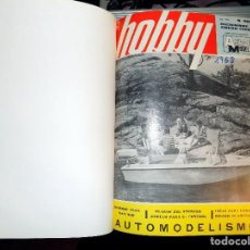Coleccionismo de Revistas y Periódicos: LOTE AÑO COMPLETO REVISTA HOBBY. BUENOS AIRES, 1968. Lote 70525349