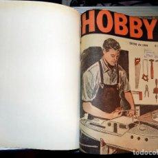 Coleccionismo de Revistas y Periódicos: LOTE AÑO COMPLETO REVISTA HOBBY. BUENOS AIRES, 1966. Lote 70525397