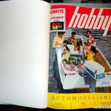 Coleccionismo de Revistas y Periódicos: LOTE AÑO COMPLETO REVISTA HOBBY. BUENOS AIRES, 1970. Lote 70525449