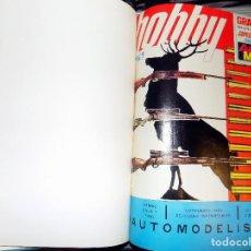 Coleccionismo de Revistas y Periódicos: LOTE AÑO COMPLETO REVISTA HOBBY. BUENOS AIRES, 1969. Lote 70525573