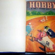 Coleccionismo de Revistas y Periódicos: LOTE AÑO COMPLETO REVISTA HOBBY. BUENOS AIRES, 1957. Lote 70525937