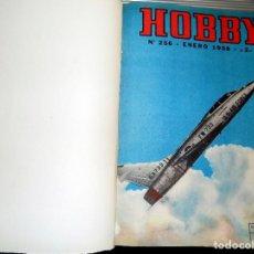Coleccionismo de Revistas y Periódicos: LOTE AÑO COMPLETO REVISTA HOBBY. BUENOS AIRES, 1958. Lote 70526193