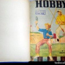 Coleccionismo de Revistas y Periódicos: LOTE AÑO REVISTA HOBBY. BUENOS AIRES, 1956. ENERO-NOVIEMBRE. Lote 70526517