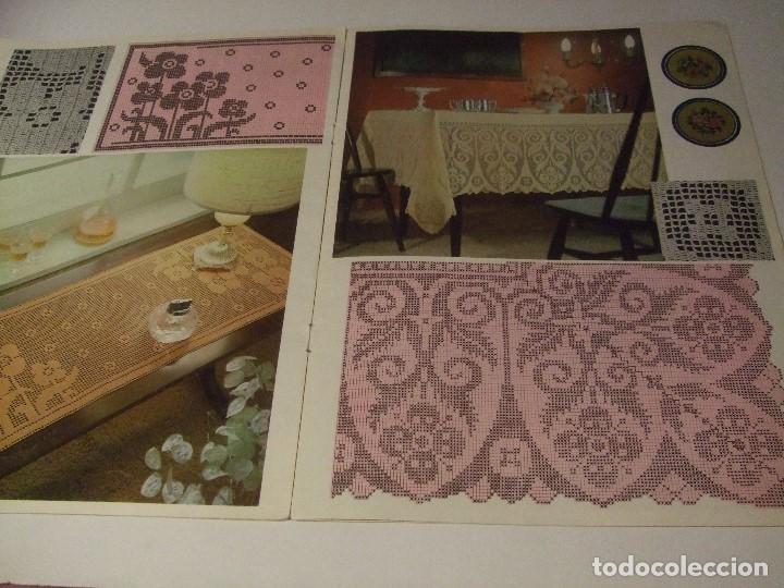 Coleccionismo de Revistas y Periódicos: REVISTA DE GANCHILLO - ARTE DE HOGAR Nº 23 - Foto 4 - 71020285