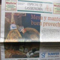 Coleccionismo de Revistas y Periódicos: ESPECIAL DE GASTRONOMÍA. GUADALAJARA 2000.. Lote 71059821