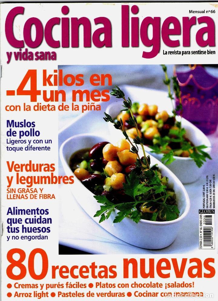 Revista Cocina Ligera Nº 66 Revistas Usadas Comprar Otras Revistas