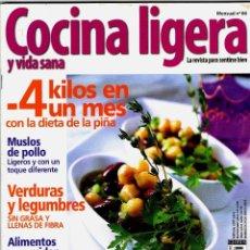 Coleccionismo de Revistas y Periódicos: REVISTA COCINA LIGERA Nº 66 REVISTAS USADAS. Lote 71122297
