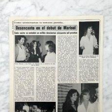Coleccionismo de Revistas y Periódicos: REPORTAJE - MARISOL - 1980. Lote 71125597