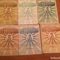 Coleccionismo de Revistas y Periódicos: ANTIGUA 6 REVISTA / REVISTAS DE LA MORENETA REVISTA DEL COLEGIO DE NSTRA. SRA. DE MONTSERRAT MANRESA. Lote 71198801