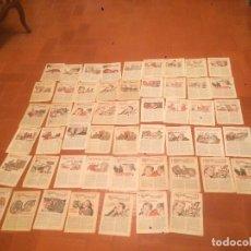 Coleccionismo de Revistas y Periódicos: ANTIGUAS REVISTAS TITULADAS HOJAS CULTURALES AÑOS 50. Lote 71213765