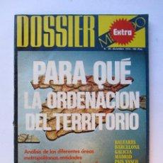 Coleccionismo de Revistas y Periódicos: DOSSIER MUNDO EXTRA Nº 40 (1974) PARA QUÉ LA ORDENACIÓN DEL TERRITORIO. Lote 71254739