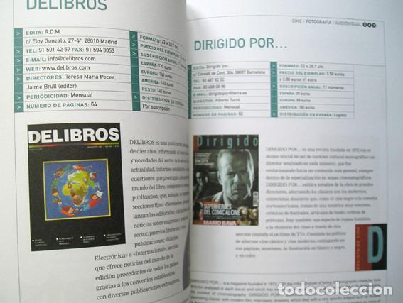 Coleccionismo de Revistas y Periódicos: Catálogo ARCE - Asociación de Revistas Culturales de España 2005-2006 - Foto 5 - 71255567