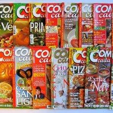 Coleccionismo de Revistas y Periódicos: COMER CADA DÍA LOTE DE 19 REVISTAS . Lote 71257763