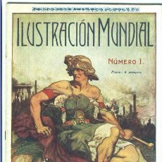 Coleccionismo de Revistas y Periódicos: ILUSTRACION MUNDIAL, REVISTA GRAFICA DE LA ACTUALIDAD, Nº 1, 1918, 1ª EDICION. Lote 71404555