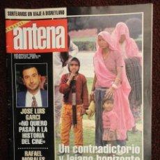 Coleccionismo de Revistas y Periódicos: DOMINICAL ANTENA Nº 750 AÑO 1995 - LA INDIA ,CHOQUE DE CULTURAS -VAZQUEZ FIGUEROA -TERESA RABAL. Lote 71460939