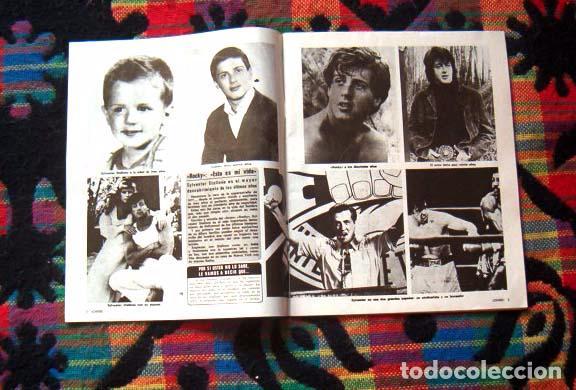 Coleccionismo de Revistas y Periódicos: CHISS / RAFFAELLA CARRA, LAS GRECAS, STARSKY y HUTCH, MARK HAMILL, STALLONE, ELVIS PRESLEY, SALERNO - Foto 3 - 56203323