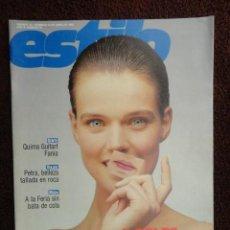 Coleccionismo de Revistas y Periódicos: DOMINICAL ESTILO ,Nº 78 DE 15 DE ABRIL DE 1990 - A GOLPE DE BISTURI -CIUDAD DE PETRA -. Lote 71470847
