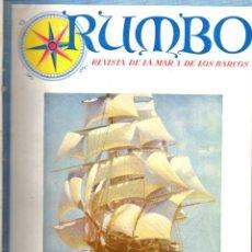 Coleccionismo de Revistas y Periódicos: RUMBO - REVISTA DE LA MAR Y DE LOS BARCOS - NÚMEROS 1 AL 27 AÑOS 1948 / 49 / 50 COMPLETOS. Lote 71547011