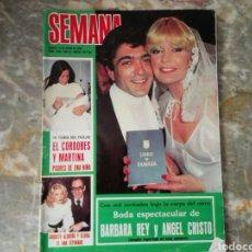 Coleccionismo de Revistas y Periódicos: REVISTA SEMANA. Lote 71574201