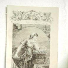 Coleccionismo de Revistas y Periódicos: REVISTA LA ILUSTRACIÓN ARTÍSTICA AÑO I NÚM. 28 BARCELONA 9 DE JULIO DE 1882.. Lote 263266945