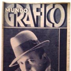 Coleccionismo de Revistas y Periódicos: MUNDO GRÁFICO, N.º 1017, 29 DE ABRIL DE 1931. Lote 71675939