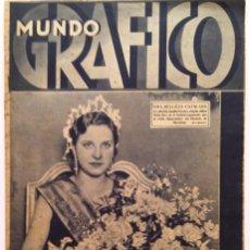 Coleccionismo de Revistas y Periódicos: MUNDO GRÁFICO, N.º 1072, 18 DE MAYO DE 1932. Lote 71676135