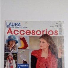 Coleccionismo de Revistas y Periódicos: LAURA MODA DE PUNTO ESPECIAL ACCESORIOS Nº 3. Lote 71717023