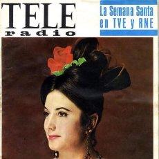 Coleccionismo de Revistas y Periódicos: TELERADIO. REVISTA TELE RADIO N. 482. 20/03/1967. ANTOÑITA MORENO. VER SUMARIO.. Lote 71731639