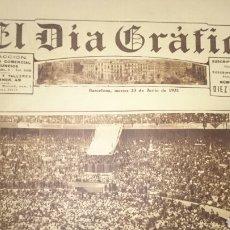 Coleccionismo de Revistas y Periódicos: PERIÓDICO EL DIA GRAFICO 23 JUNIO 1931. Lote 71767967