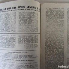 Coleccionismo de Revistas y Periódicos: TIBIDABO. ÓRGANO DEL TEMPLO NACIONAL EXPIATORIO EN LA CUMBRE DEL TIBIDABO. Nº35 1953. Lote 71962751