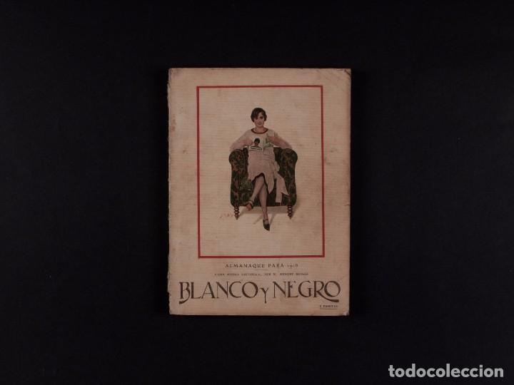 REVISTA BLANCO Y NEGRO Nº1.911, 1928 (Coleccionismo - Revistas y Periódicos Antiguos (hasta 1.939))