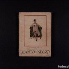 Coleccionismo de Revistas y Periódicos: REVISTA BLANCO Y NEGRO Nº1.911, 1928. Lote 72093599