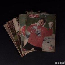 Coleccionismo de Revistas y Periódicos: REVISTAS CHICAS 1957, LOTE 5 EJEMPLARES. Lote 72097651