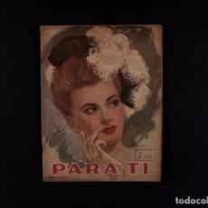 Coleccionismo de Revistas y Periódicos: REVISTA PARA TÍ Nº1268, 1946. Lote 72102319