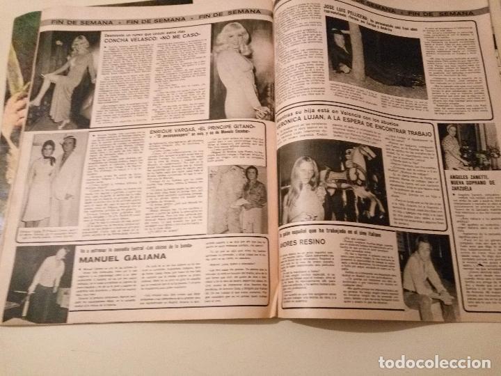 Coleccionismo de Revistas y Periódicos: SEMANA Nº 1855 1975 RAPHAEL EL CORDOBES EMMA OZORES MIGUEL BOSE AMPARO MUÑOZ ROCIO JURADO GOYANES - Foto 6 - 72240595
