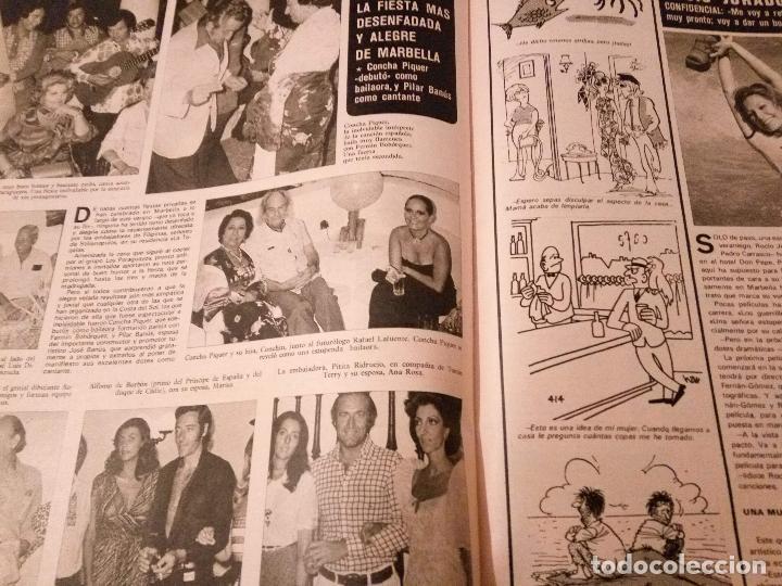 Coleccionismo de Revistas y Periódicos: SEMANA Nº 1855 1975 RAPHAEL EL CORDOBES EMMA OZORES MIGUEL BOSE AMPARO MUÑOZ ROCIO JURADO GOYANES - Foto 9 - 72240595